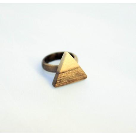 Prstan Oreh trikotnik