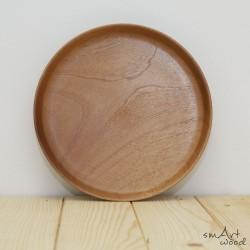 Unikatni leseni krožnik