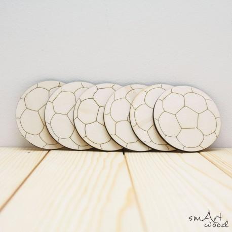 Leseni podstavki - žoga
